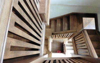 Le scale in parquet: per unire praticità ed eleganza